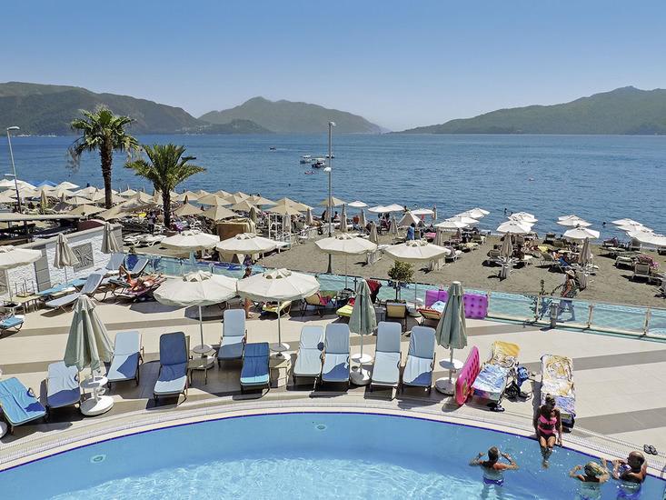 8 daagse vliegvakantie naar Marbella in marmaris, turkije