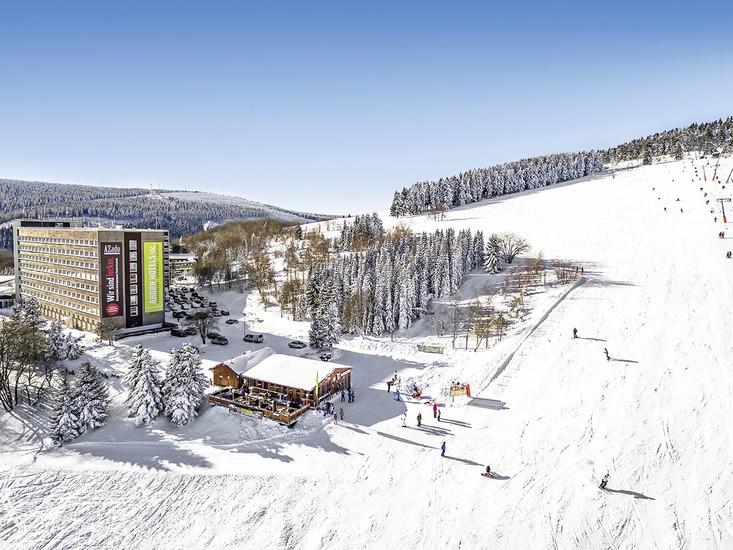 8 daagse wintersport vakantie naar AHORN Am Fichtelberg in oberwiesenthal, duitsland