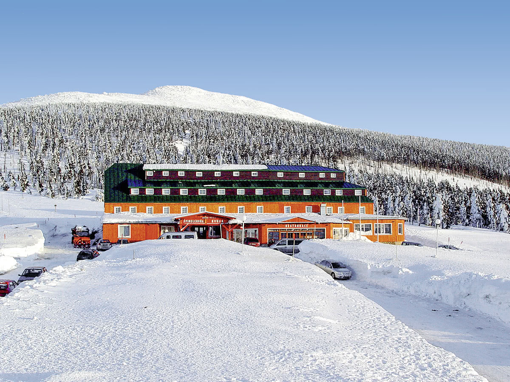 8 daagse wintersport vakantie naar Spindlerova Bouda in spindleruv mlyn, tsjechie
