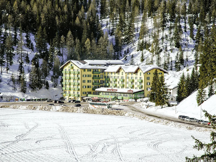 8 daagse wintersport vakantie naar Blu Grand Misurina in lago di misurina, italie