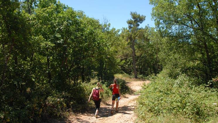 22 daagse kampeervakantie naar Les Lacs du Verdon in regusse, frankrijk
