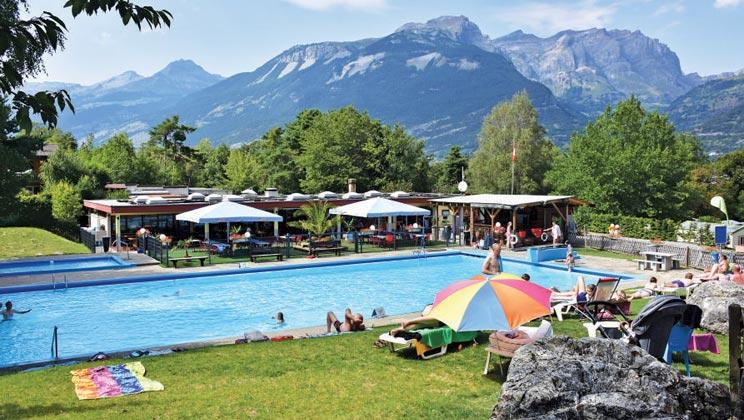 22 daagse kampeervakantie naar Bella Tola in susten, zwitserland