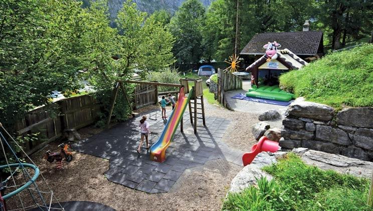 22 daagse kampeervakantie naar Jungfrau in lauterbrunnen, zwitserland