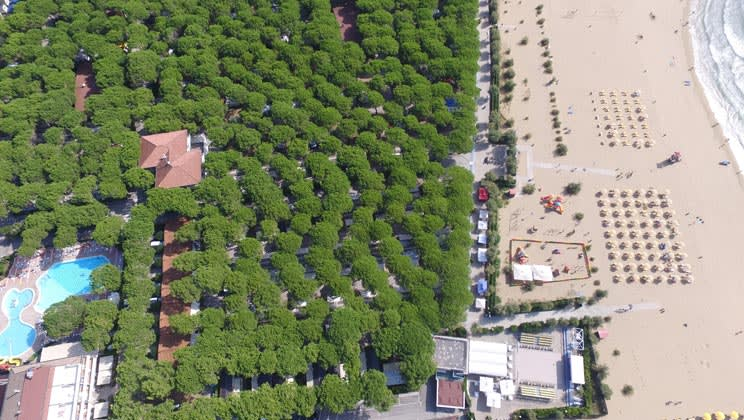 22 daagse kampeervakantie naar Residence Village in cavallino, italie