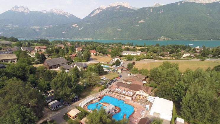 8 daagse kampeervakantie naar Les Fontaines in lac d annecy, frankrijk