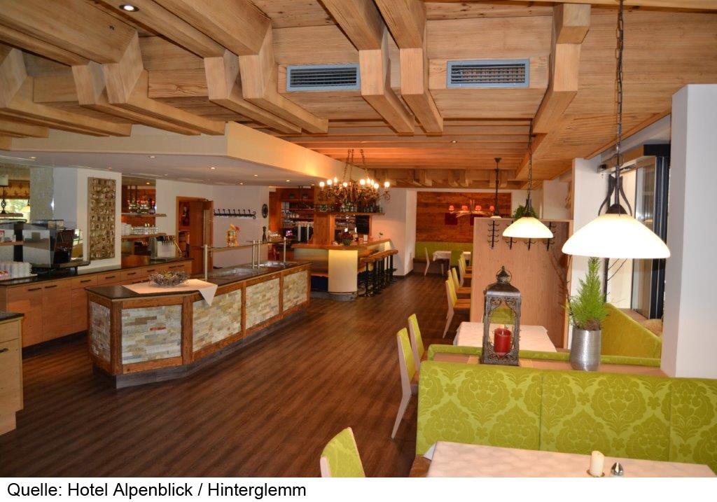 8 daagse wintersport vakantie naar Alpenblick in hinterglemm, oostenrijk