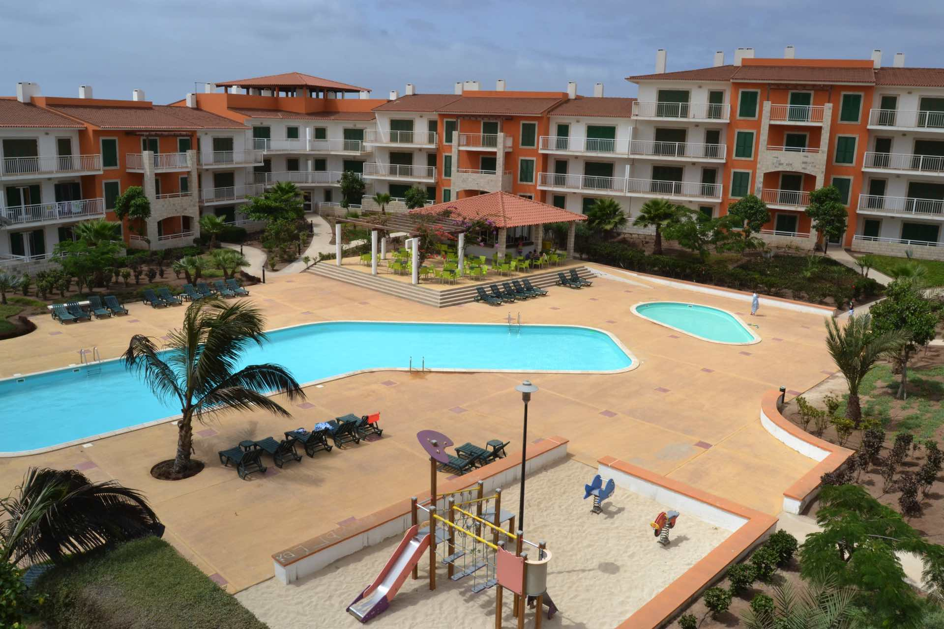 8 daagse vliegvakantie naar Agua Sal Vila Verde in santa maria, kaapverdische eilanden