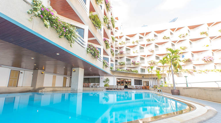 8 daagse vliegvakantie naar City Beach Resort in hua hin, thailand