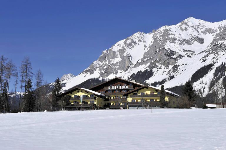 8 daagse wintersport vakantie naar Almfrieden in ramsau am dachstein, oostenrijk