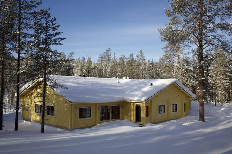8 daagse wintersport vakantie naar Pan Village Oulanka in salla, finland
