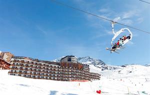 Frankrijk, Franse Alpen, Val Thorens