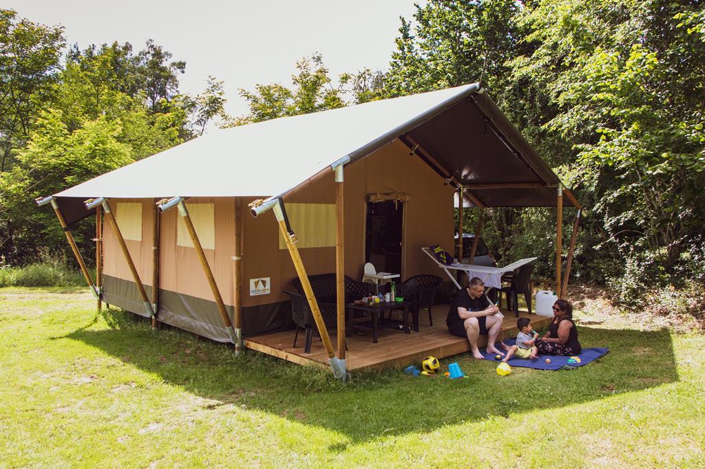 Camping Chateau de Satenot