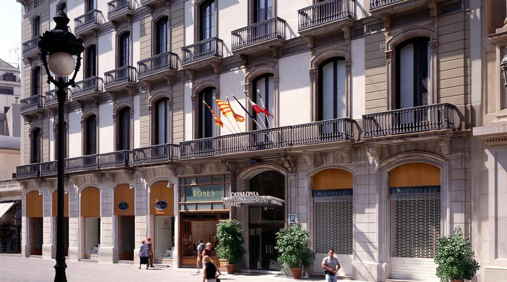 vakantie Catalonia Portal de l Angel_2